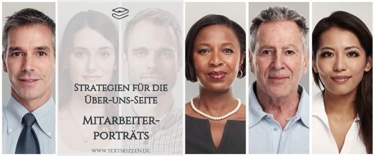 Strategien für die Über-uns-Seite: Eine Teamseite schreiben; sechs Porträts