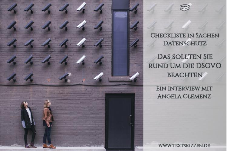 DSGVO und Datenschutz: Interview mit Angela Clemenz