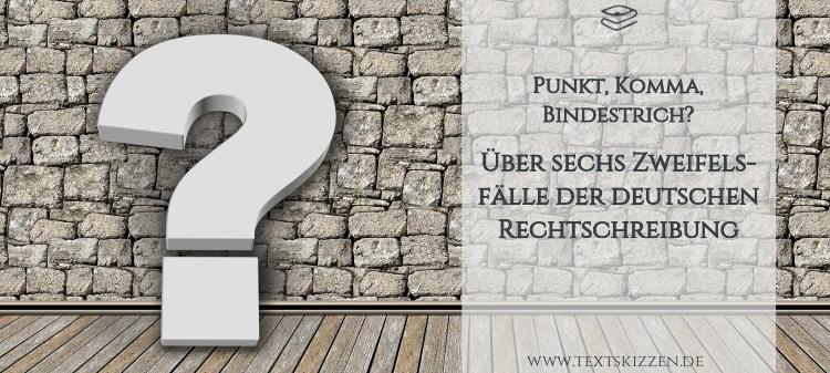 Sprachliche Zweifelsfälle der deutschen Sprache: Fragezeichen vor Holzboden und Steinwand